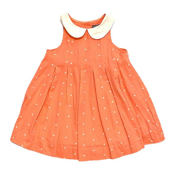 "Baby Gap Coral ""Gatsby Collection"" Pleated Dress"